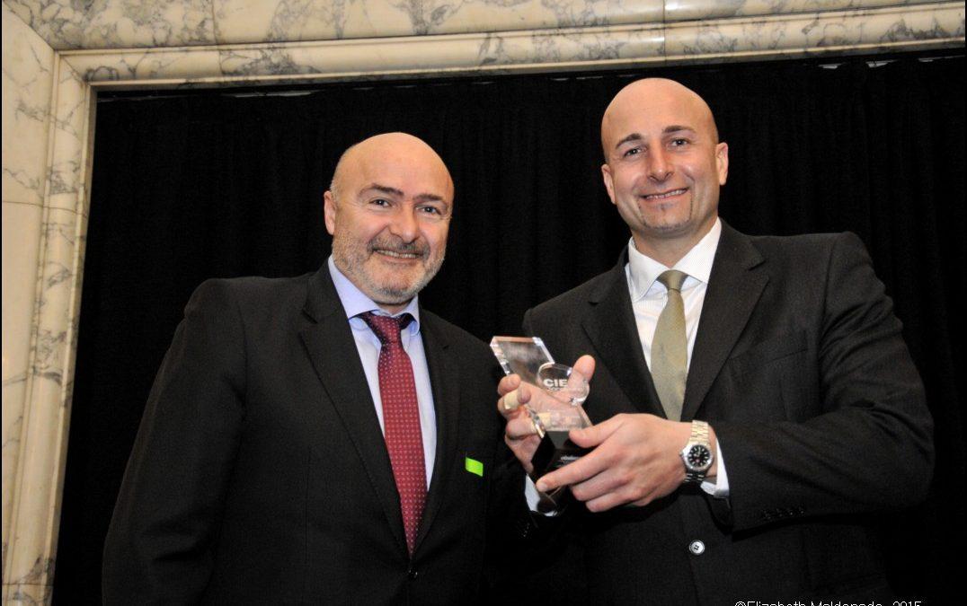Roger Esteller recibe el Premio a la Innovación en Talento Empresarial 2015