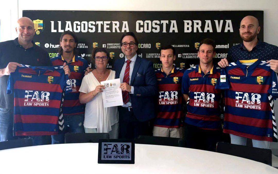 FAR LAW SPORTS patrocina la UE Llagostera Costa Brava